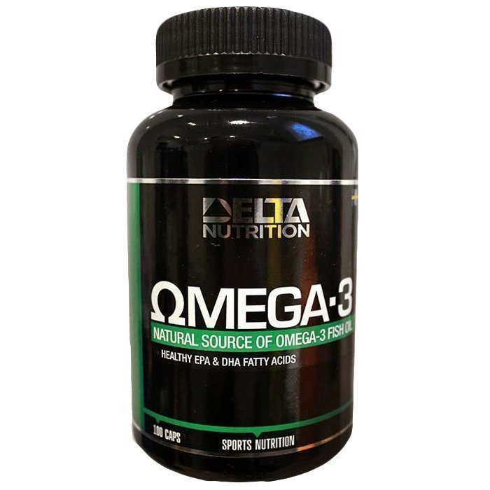 Delta Nutrition Omega-3 100 caps