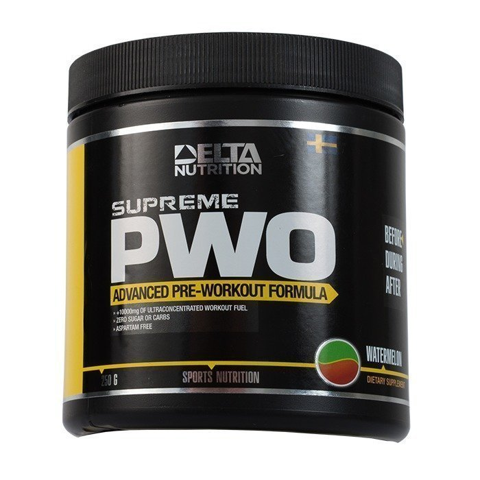Delta Nutrition Supreme PWO 250 g Watermelon