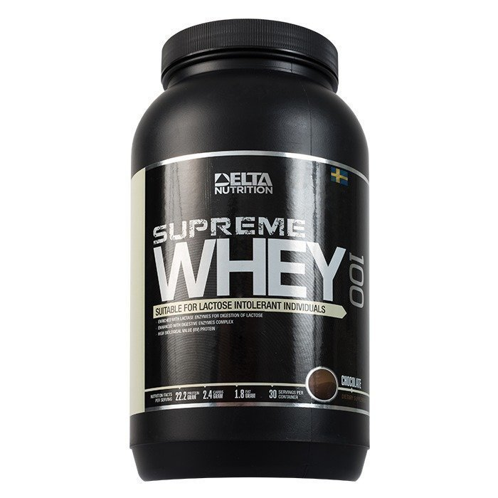Delta Nutrition Supreme Whey 100 900 g Chocolate