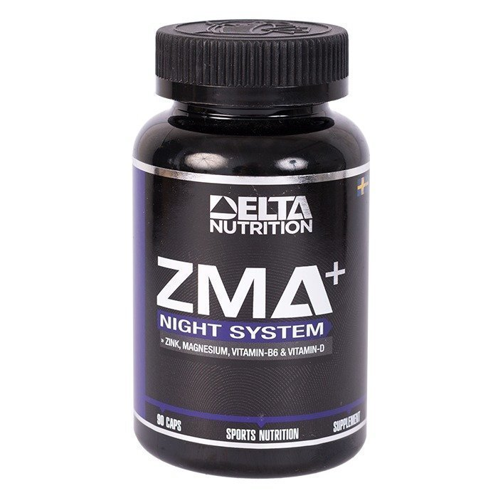 Delta Nutrition ZMA+ Night System 90 caps