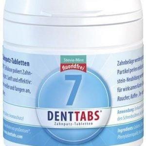 Denttabs Hampaidenpesutabletit Fluoriton