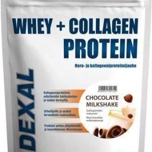 Dexal Whey+Collagen Proteiinijauhe Suklaapirtelö