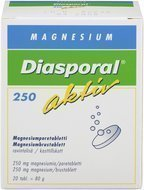Diasporal Magnesium Aktiv-poretabletti 20kpl