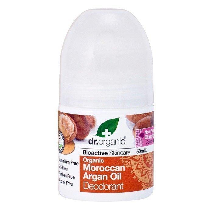 Dr Organic Deo Roll-On Granaattiomena 50 ml