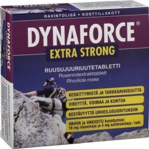 Dynaforce Extra Strong Ruusujuuritabletit