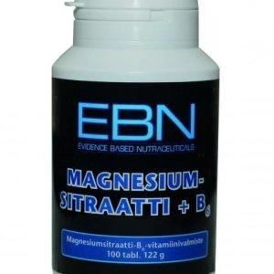 EBN EBN Magnesiumsitraatti + B6