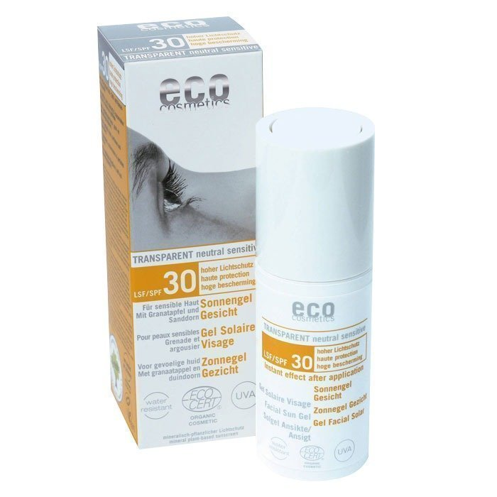 Eco Cosmetics Aurinkogeeli Kasvot SPF 30 30 ml