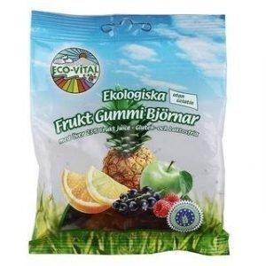 Eco-Vital Gluteeniton Luomu Nallekarkit