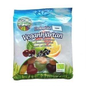 Eco-Vital Gluteeniton Luomu Vegaanisydämet