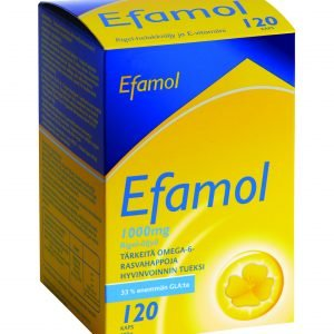 Efamol 120 Kaps Helokkiöljy+E