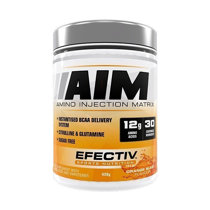 Efectiv Nutrition AIM 420g Orange Blast
