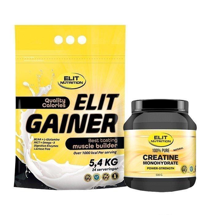 Elit Nutrition ELIT GAINER - Lactose free 5400 g + Creatine 500 g