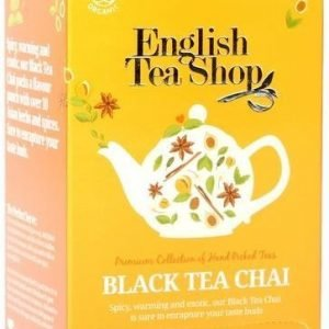 English Tea Shop Luomu Black Chai Tee