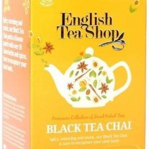 English Tea Shop Luomu Black Chai Tee