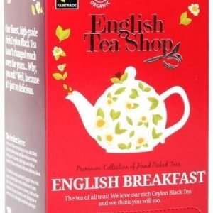 English Tea Shop Luomu English Breakfast Tee