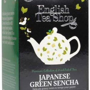 English Tea Shop Luomu Japanilainen Vihreä Sencha