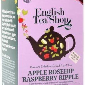 English Tea Shop Luomu Omena-Ruusunmarjatee