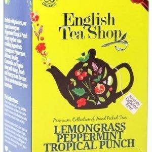 English Tea Shop Luomu Sitruunaruoho-Piparminttutee