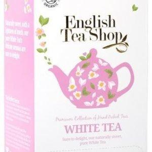 English Tea Shop Luomu Valkoinen Tee