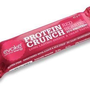 Evoke Natural Energy Crunch Proteiinipatukka Punaiset Marjat