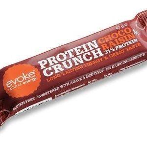 Evoke Natural Energy Crunch Proteiinipatukka Suklaarusina