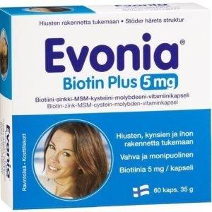 Evonia Biotin Plus 5 Mg