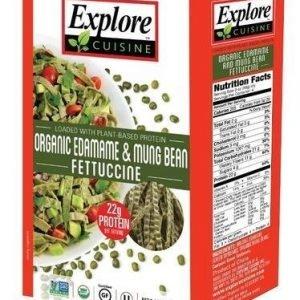 Explore Asian Luomu Edamame-Mungpapufettucine