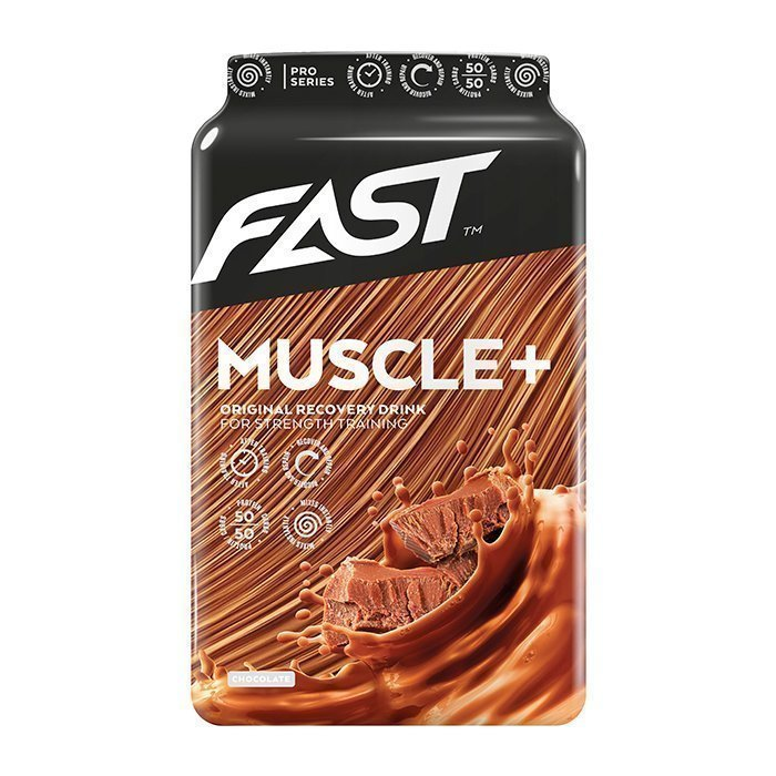 FAST Muscle+ 900 g Strawberry