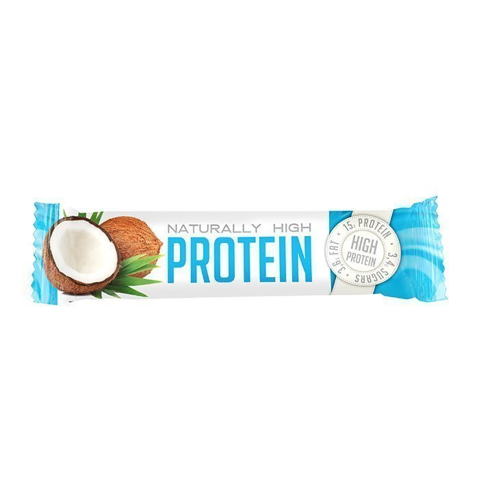 FAST Naturally High Protein 50 g Strawberry White Chocolate