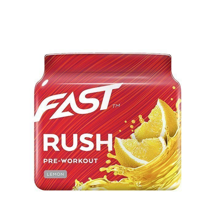 FAST Pre-Workout Rush 110 g Raspberry