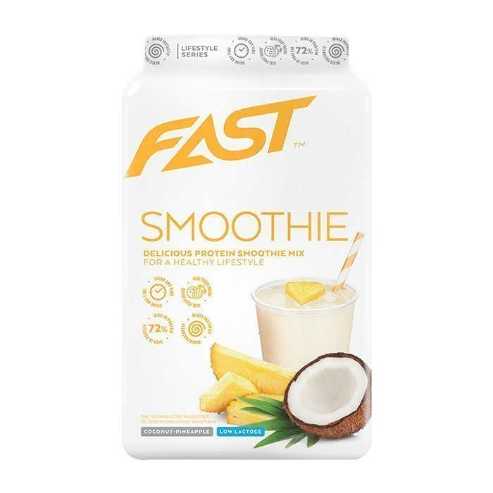 FAST Protein Smoothie Mix 500 g Blueberry-Raspberry