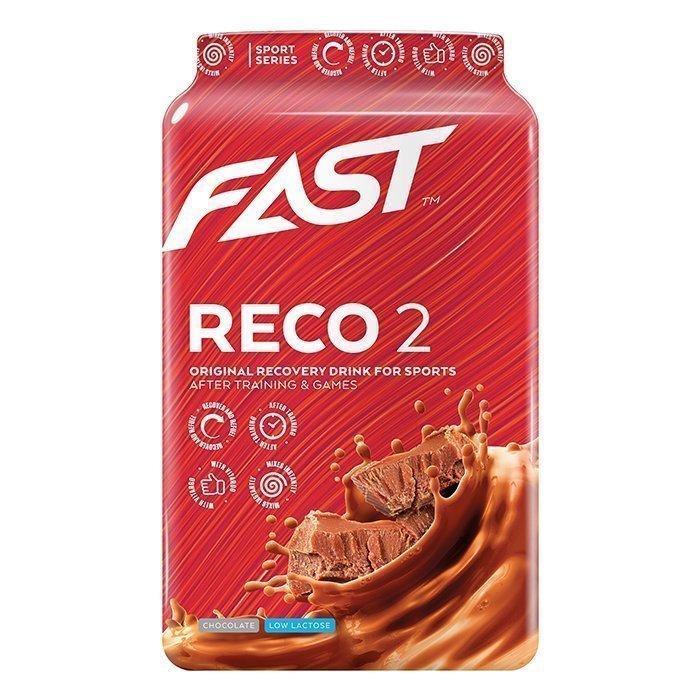 FAST Reco2 900 g Strawberry