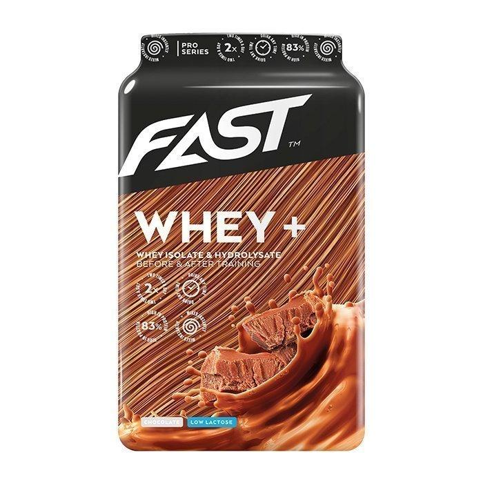 FAST Whey+ 600 g Strawberry