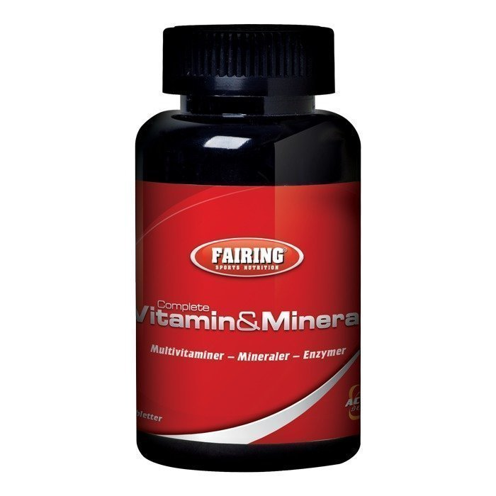 Fairing Complete vitamin & mineral 60 tabs