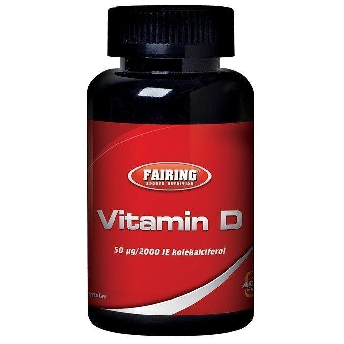 Fairing Vitamin D 100 caps