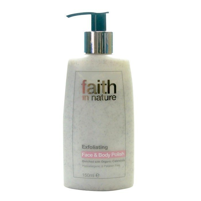 Faith in Nature Exfoliating Face & Body Polish 150 ml