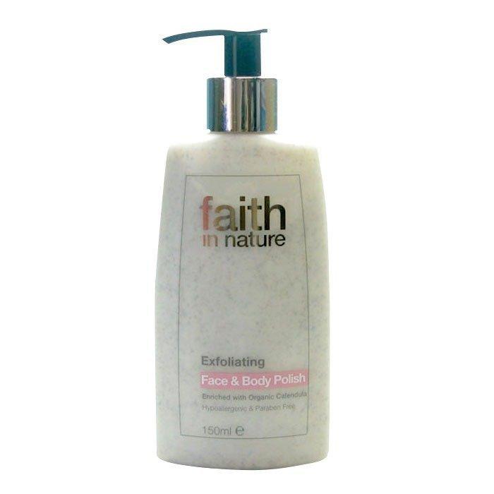 Faith in Nature Exfoliating Face & Body Polish 150 ml