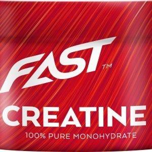 Fast Creatine Kreatiinimonohydraattijauhe 250 G