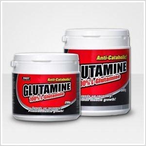 Fast Glutamine 100% L-Glutamiinijauhe 250 G