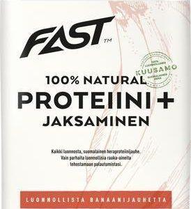 Fast Natural Proteiini + Jaksaminen Banaani