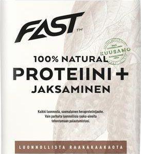Fast Natural Proteiini + Jaksaminen Raakakaakao