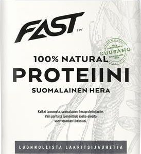 Fast Natural Proteiini Lakritsi