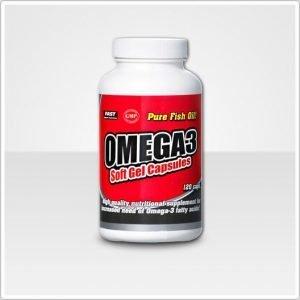 Fast Omega-3 Kalaöljykapselit 120 Kpl / Pkt