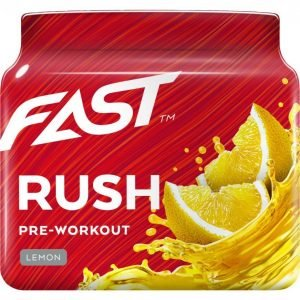 Fast Pre-Workout Rush Sitruuna 110g