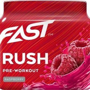 Fast Pre-Workout Rush Tehonlisääjä 110 G