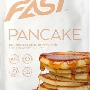 Fast Protein Pancake Mix Vaahterasiirappi