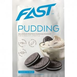 Fast Pudding Deluxe Cookies & Cream 30 G