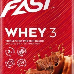 Fast Whey3 Vähälaktoosinen Heraproteiinijauhe 600 G
