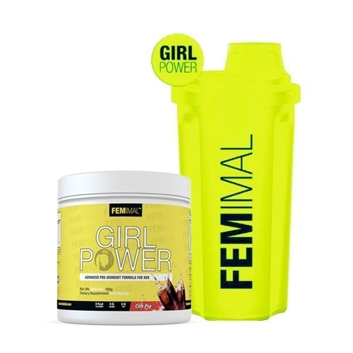 Femimal Girl Power 180 g + FEMIMAL Shaker 500 ml