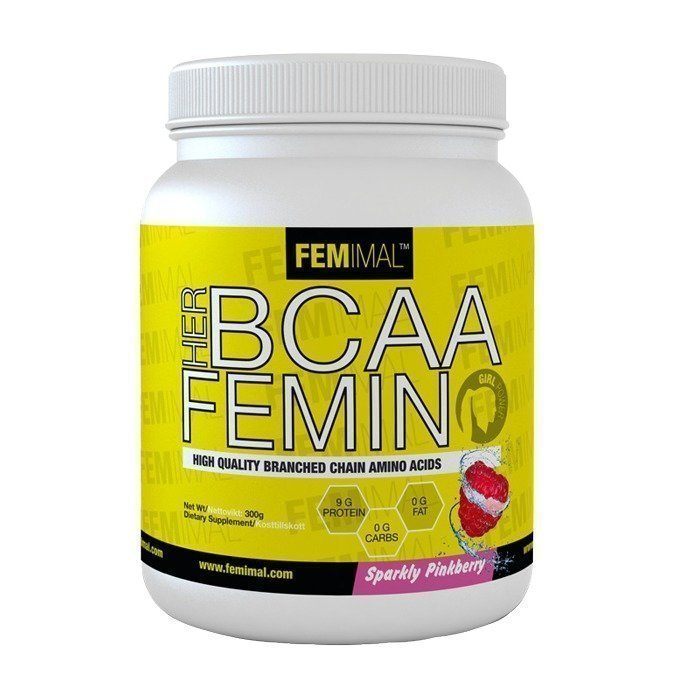 Femimal HER BCAA FEMINO 300 g Blue Fuzz (Black Currant)